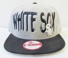 CA3358)NEWERA「WHITE SOX」デザインスナップバックキャップ