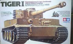 1/35 タミヤ ドイツ軍 タイガー�T型 オットー・カリウス搭乗車 中期生産型