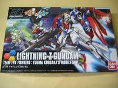 HG 1/144 HGBF-040 ライトニングZガンダム 新品 ガンダムビルドファイターズトライ