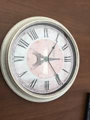 ★新品★カフェ風エッフェル塔掛け時計★