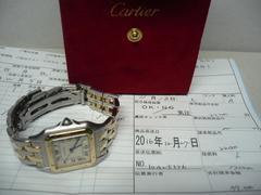 カルティエ  美品   パンテールMM  2ロウ  時計