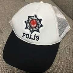 実物官給品 現役トルコ警察用略帽 現品限り