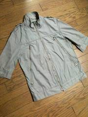 美品SHIPS JET BLUE デザインジャケット 日本製 シップス