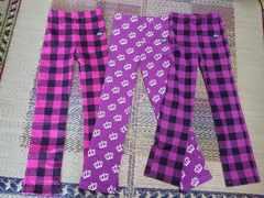 BABYDOLL☆ストレッチパンツ3枚セット☆ベビードール パンツ 紫