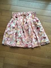 LIZ LISA バラ柄が可愛い ふんわりスカート N2m 女子力UP!