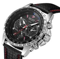 腕時計 メンズ カジュアル レザー