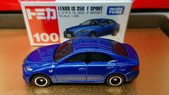 ★赤箱トミカ100★レクサス IS 350 F SPORT★