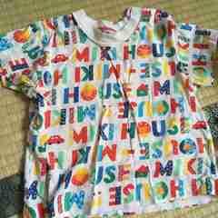 ミキハウス☆Tシャツ 可愛い 子ども服 今からの季節に