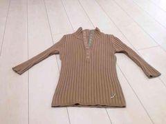 JAYROのリブ七分袖セーター