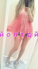 サテンツルツルsexyチューブトップ☆彡 アシメミニスカートにも♪ ニオイ��