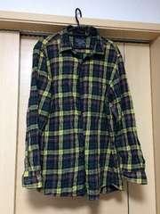 UNIQLO!XLサイズ!チェック柄ネルシャツ美品
