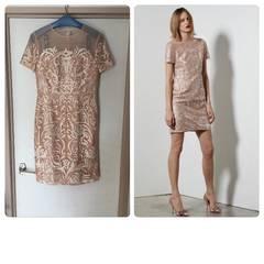 2017年購入美品グレースケコンチネンタル チュール刺繍ワンピ
