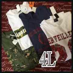 4L・Tシャツ4点セット・新品/MCM‐705