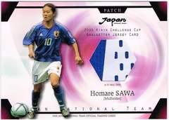 澤穂希 2006 日本代表 パッチカード 22of50