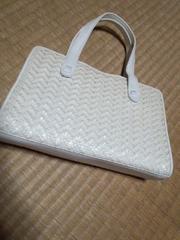 和装系 ホワイト調バッグ