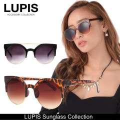 LUPIS キャットアイサングラス