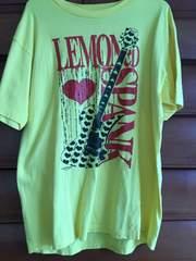 lemonedイエローハートTシャツhide