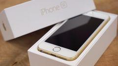 iPhone SE 64GB ゴールド 中古 2016年製