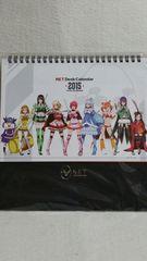 パチスロ/シンデレラブレイド2/2015年度卓上カレンダー非売品未開封