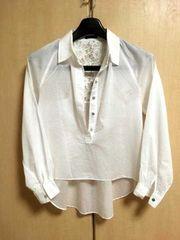 □良品《NINE/ナイン》背中レースシャツ サイズF□