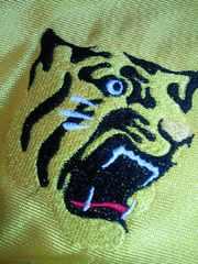 プロ野球 阪神タイガース GREEN FIELD 応援用 半袖 シャツ フリーサイズ 39