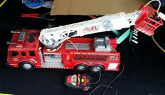 ラジコン、消防車、ファイヤー