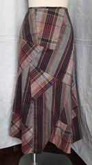 ■ヌオーヴォ/ロング フレア 裾デザインスカート/サイズ38
