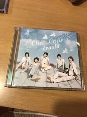 嵐 one love初回限定CD+DVD花より男子主題歌松本潤櫻井翔大野智