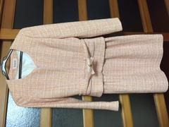 デビュードフィオレ ピンクツィード セットアップ スーツ
