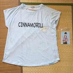 しまむら×サンリオ・サンリオ男子ブロマイド付Tシャツ。4L