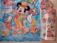 TDL30thHAPPINESS GOES ON!筒型缶ボックス パーク袋付ミッキーミニードナ風船