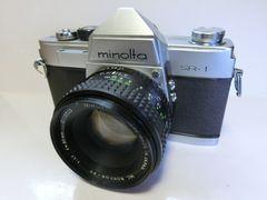 ミノルタ MINOLTA SR−1   レンズ付