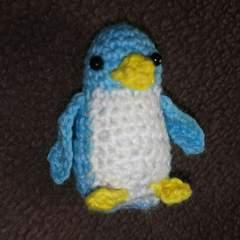 手編みのあみぐるみ、ペンギン