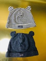 ◆ 新品 未使用 ◆ ベビー ギャップ baby GAP 二枚セット 帽子