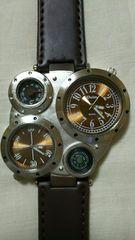 Oulm 多機能、腕時計