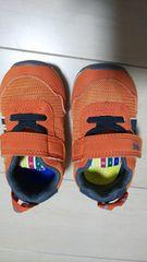 イフミー。IFME。12,5センチ。オレンジ。ベビー靴