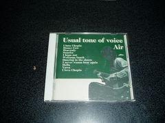 CD「AIR(車谷浩司)/USUAL TONE OF VOICE」98年盤 初回限定盤