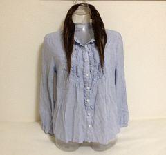 ストライプ☆シャツ L