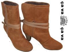 サヴァサヴァcavacava新品ショート ブーツ1000858 23.5