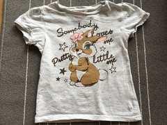 ディズニー☆ミス・バニーTシャツ110センチ