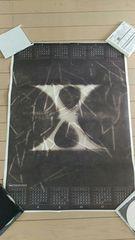 X JAPAN Singles ポスター ロゴ 72センチ×52センチ