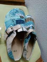 新品ペタンコ靴19�p