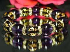 『お守り数珠』守護本尊!!十二支一体彫オニキス☆