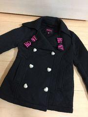 ◆ RONI ◆ 黒 コート 可愛い ^_^ ロニィ ジャケット