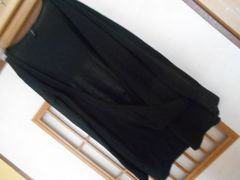 アズノウアズ*やや薄手長袖黒カーデ☆クリックポスト164円