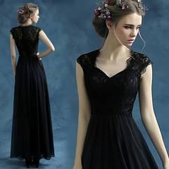 ロングドレス 成人式 演奏会 イブニングドレス透かし彫りDC210