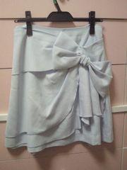 訳あり スウィングル リボンスカート 限定カラー 美品