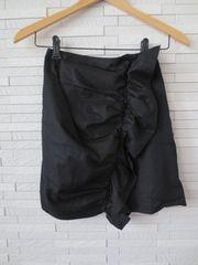 即決/PINK PINK PINK/フリルギャザーモチーフタイトスカート/黒