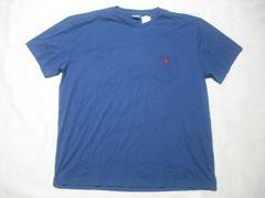 12 男 POLO RALPH LAUREN ラルフローレン 紺 半袖Tシャツ L