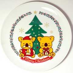 コアラのマーチ●クリスマスプレート●ロッテリア限定●新品